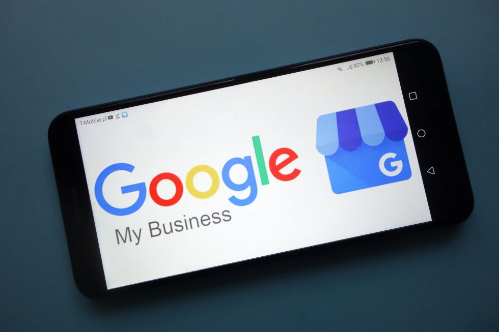 Google My Business on iPhone