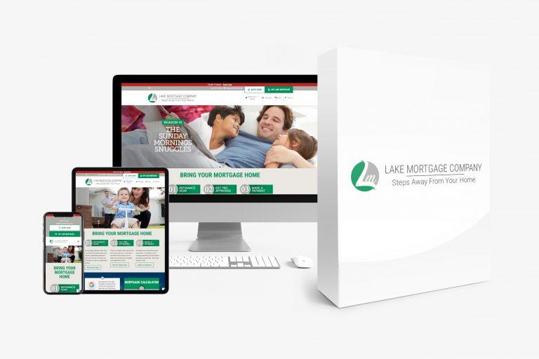 Lake Mortgage web display
