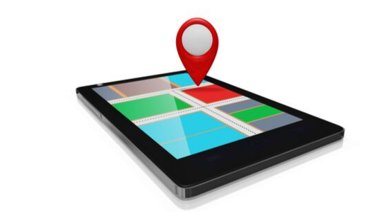 Map marker on iPhone