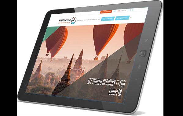 MWR website on iPad