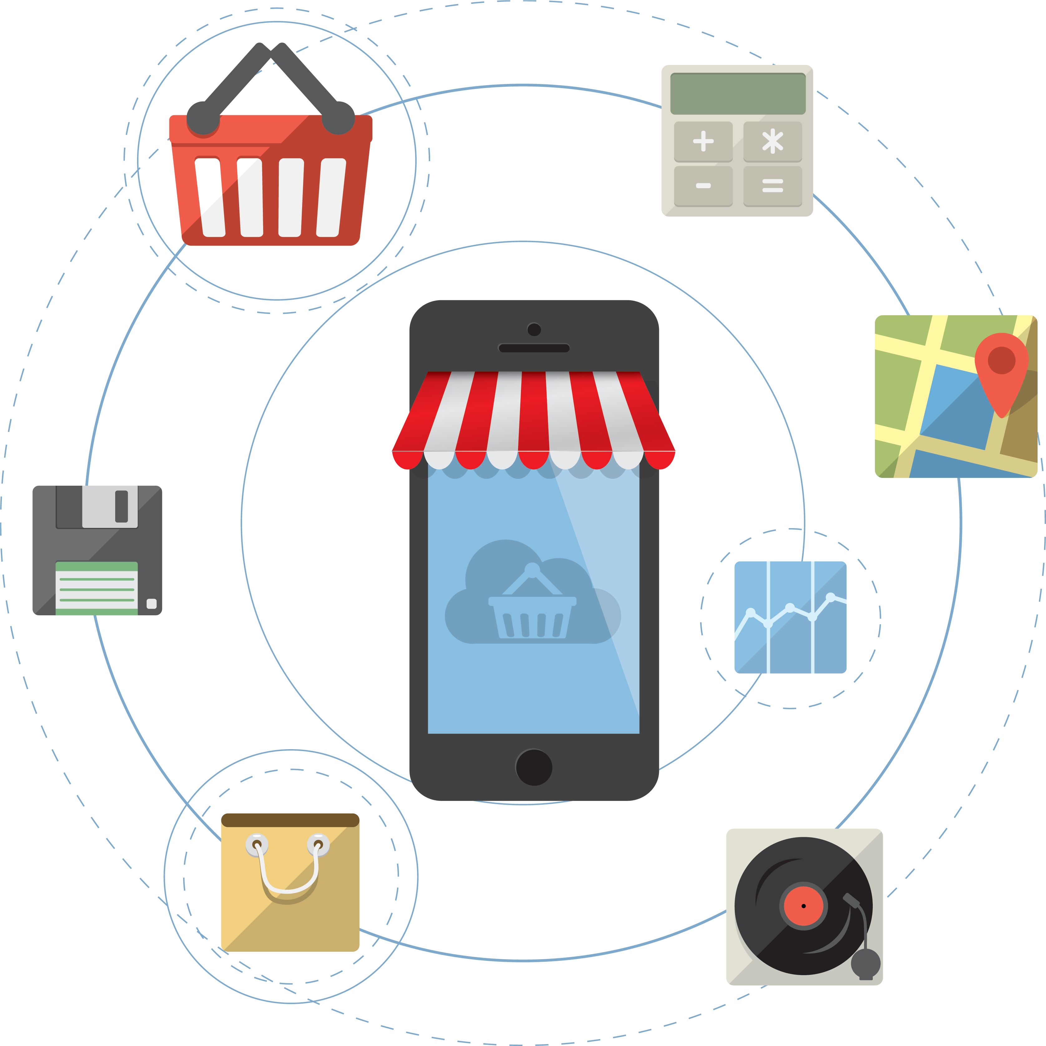 e-Commerce illustration