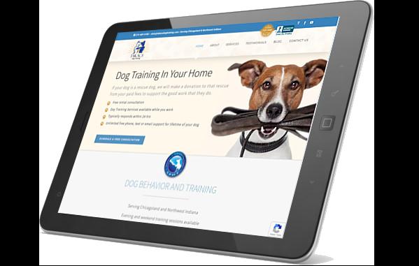 Takacs website on iPad
