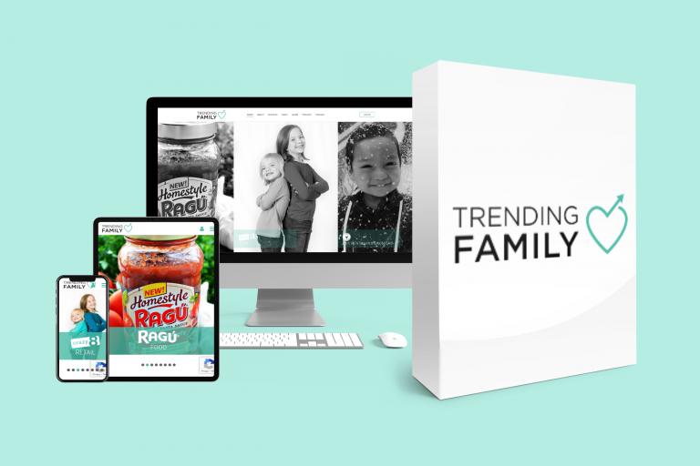 Trending Family web display