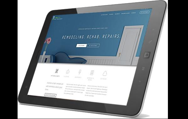 Details Home Improvement on iPad