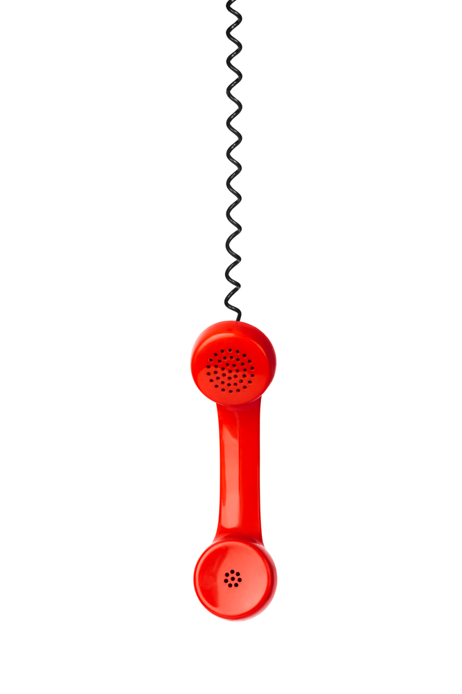 Red phone and cable
