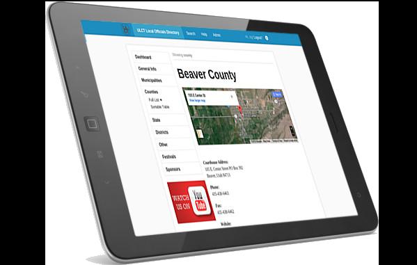ULCT web app on iPad